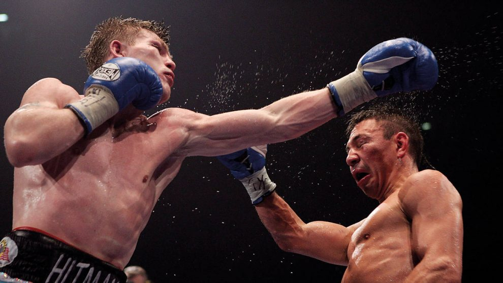 Ricky Hatton greatest British fights
