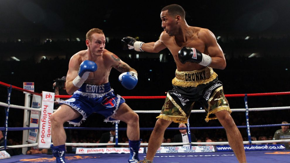 George Groves boxing