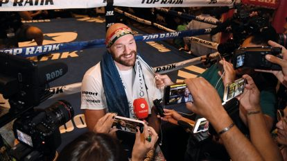boxing tyson Fury