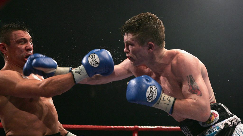 Ricky Hatton boxing