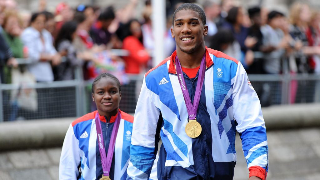 Anthony Joshua Olympic gold medallists
