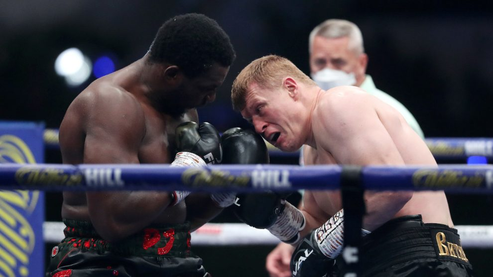 Povetkin knocks Whyte out in fifth round