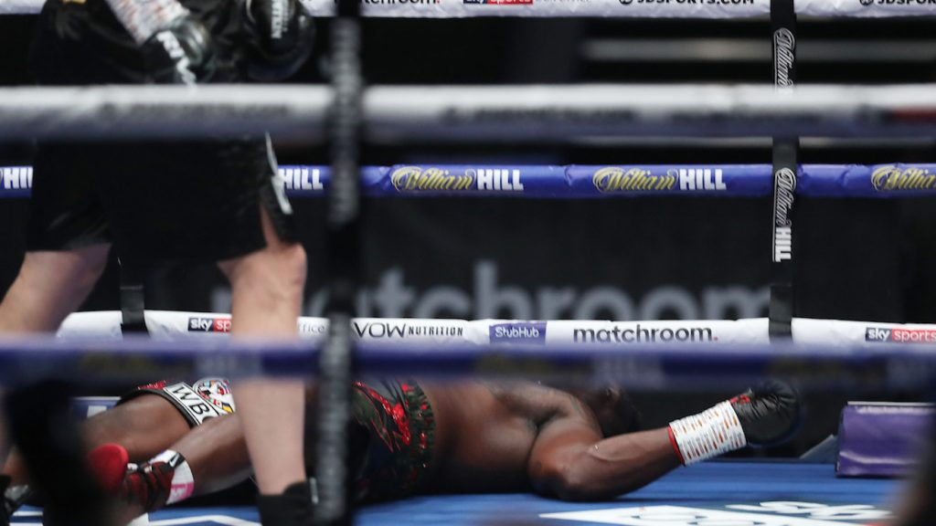Alexander Povetkin claims WBC title from Dillian Whyte with crazy KO