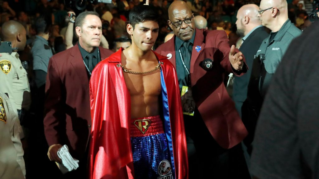 Ryan Garcia fights Luke Campbell