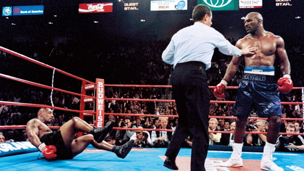 Evander Holyfield vs Mike Tyson boxing history