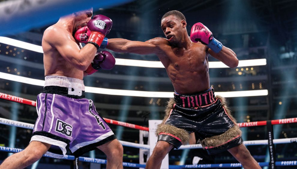 Errol Spence southpaw