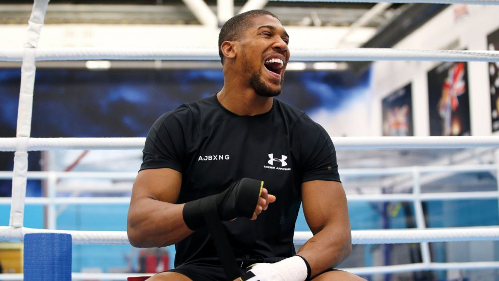 Anthony Joshua heavyweight fights