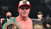 Canelo Alvarez fighters of the year