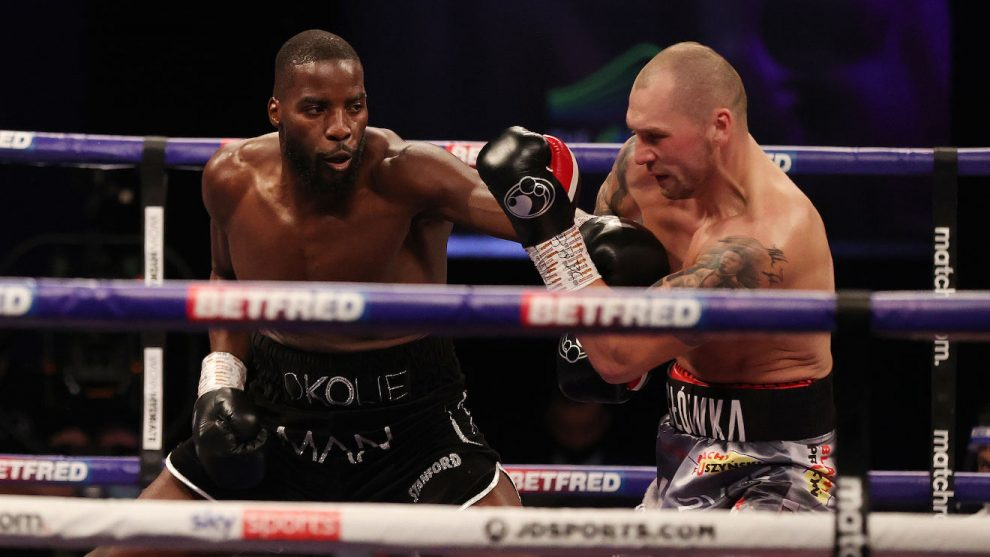 Lawrence Okolie seizes WBO cruiserweight title in devastating style - Boxing News