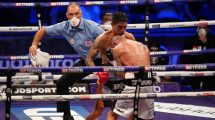 Lewis Ritson the towel