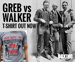 Greb vs Walker Tee